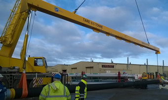 15 tonne x 20m multipoint lifting beam