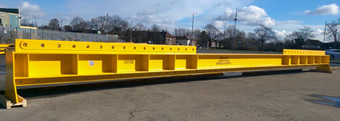 20 tonne x 12m span multipoint lifting beam