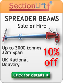 Click to enter Sectionlift spreader beams