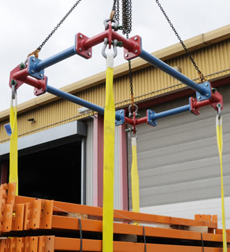 Sectionlift lifting frame