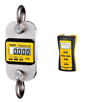 Yale TZR remote load indicator